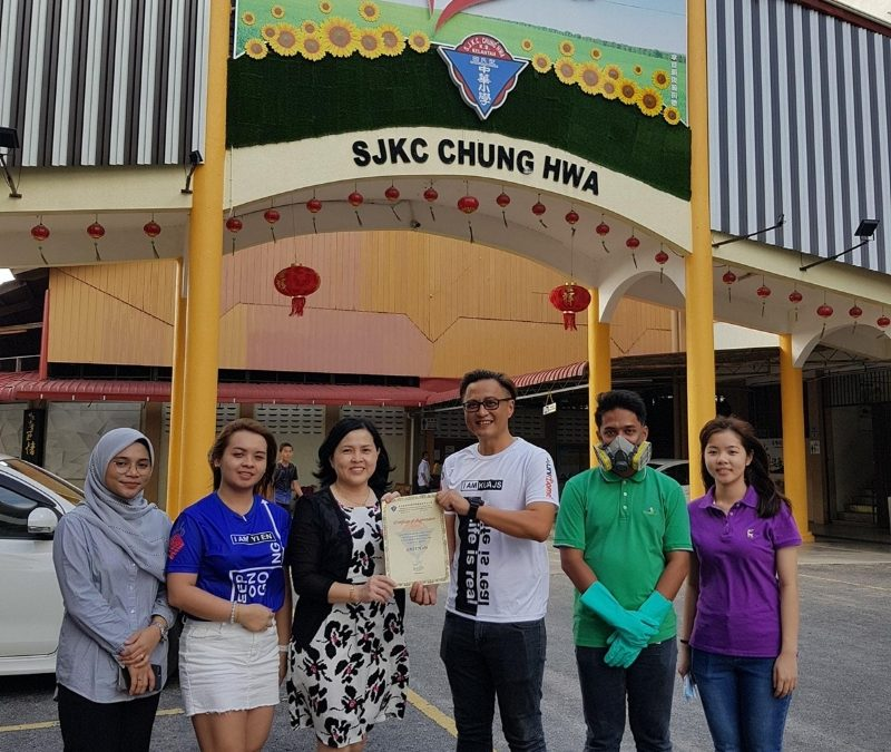 CSR Program at S.J.K. (C) Chung Hwa, Kota Bharu